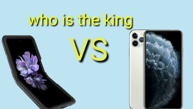iPhone 11 Pro Max and Samsung Galaxy Z Flip which one is the king?