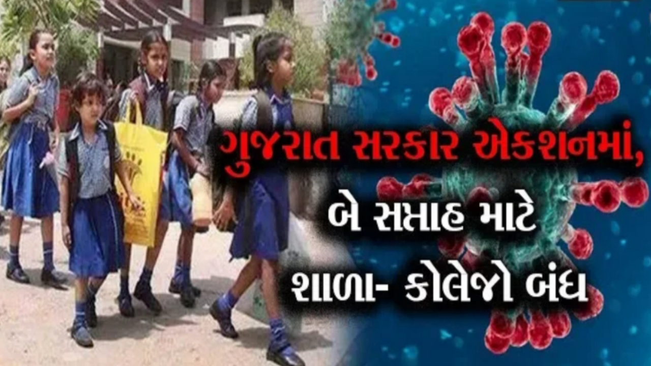 Gujarat All School, Multiplex And Mall Close Due To Corona Effect