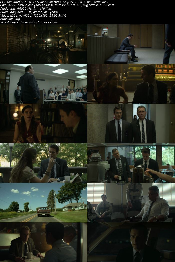 Mindhunter S01 Complete Dual Audio Hindi 720p 480p WEB-DL 3.8GB Download