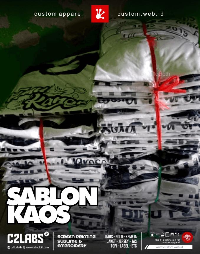 Kaos Reuni Sablon Kaos Online Siap Kirim ke Seluruh Indonesia