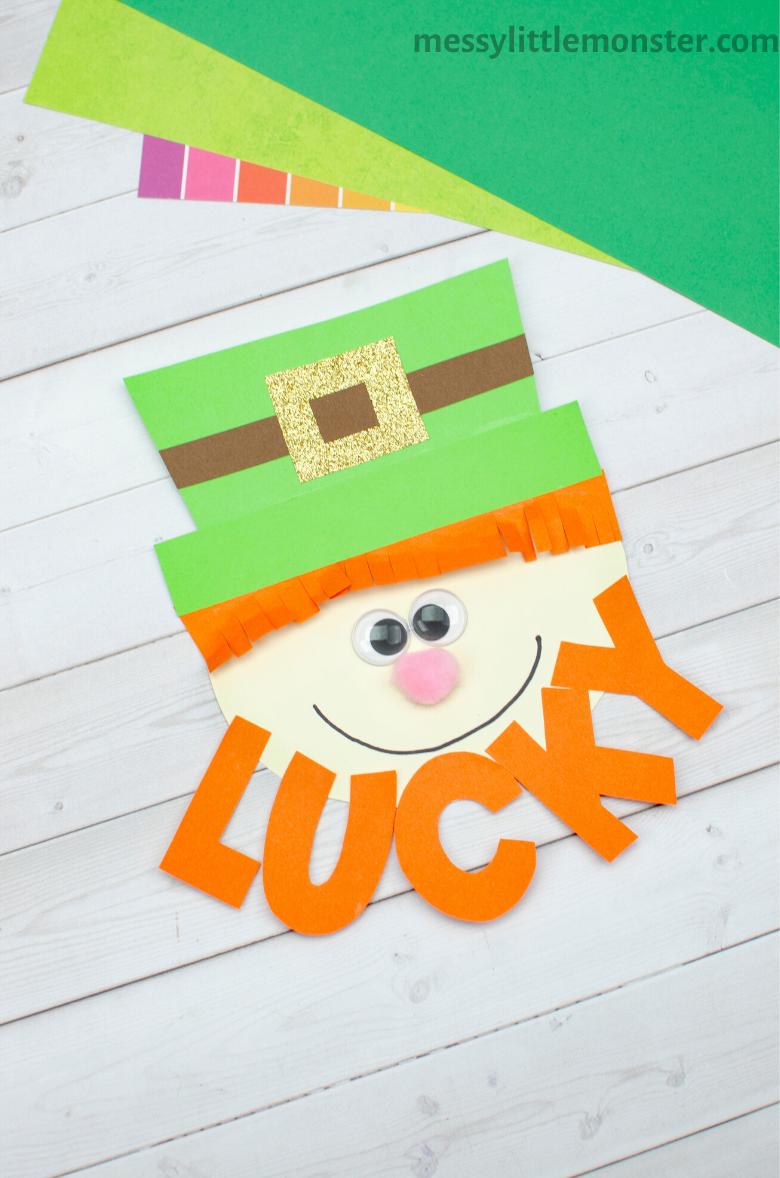 Easy St Patricks Day craft