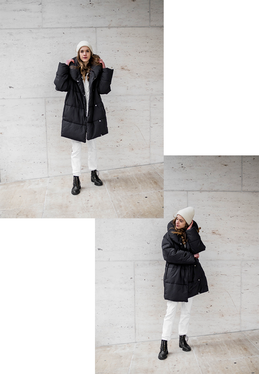 H&M toppatakki // H&M puffer coat