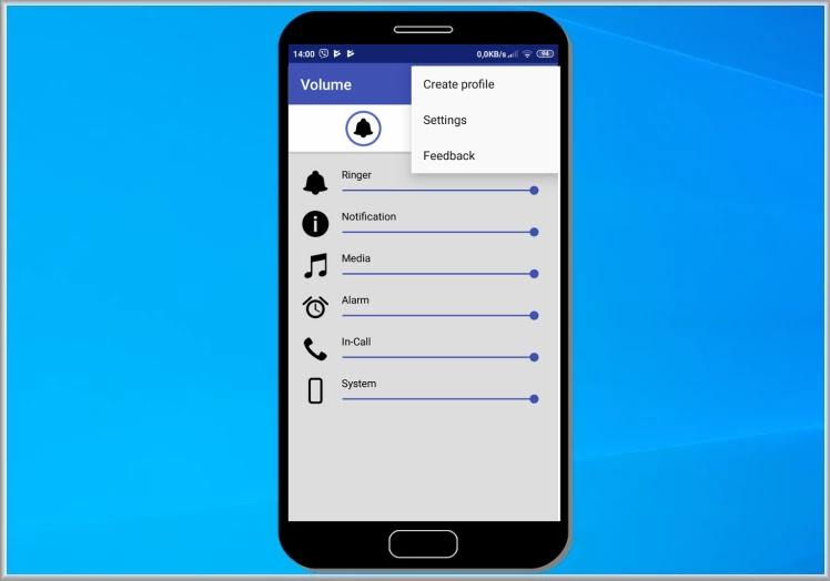 Volume Manager : Διαχειριστείτε τον ήχο στην συσκευή σας