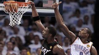 BALONCESTO (Finales NBA 2012) - Game 2: Con 32 puntos de LeBron y doble-doble de Chris Bosh Miami vencieron en Oklahoma