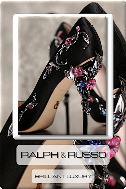 ♦Ralph & Russo High Heels #shoes #ralphandrusso #eveningpumps #brilliantluxury