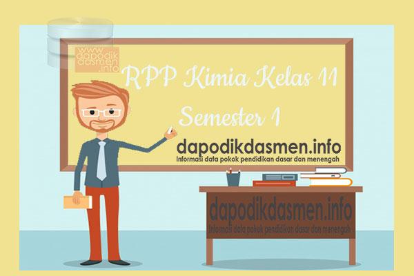 RPP Kimia Kelas 11 SMA MA Semester 1 Revisi Terbaru 2019-2020