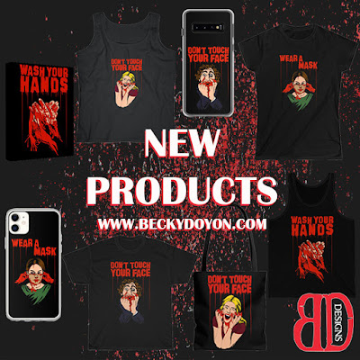 Becky Doyon Covid Horror Products