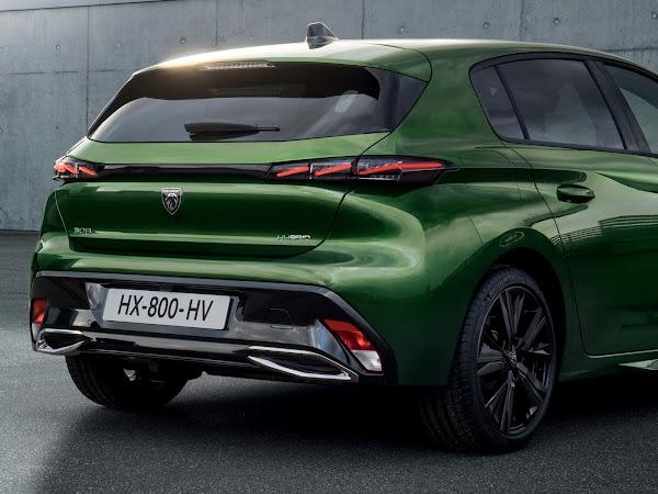 Novo Peugeot 308 2022