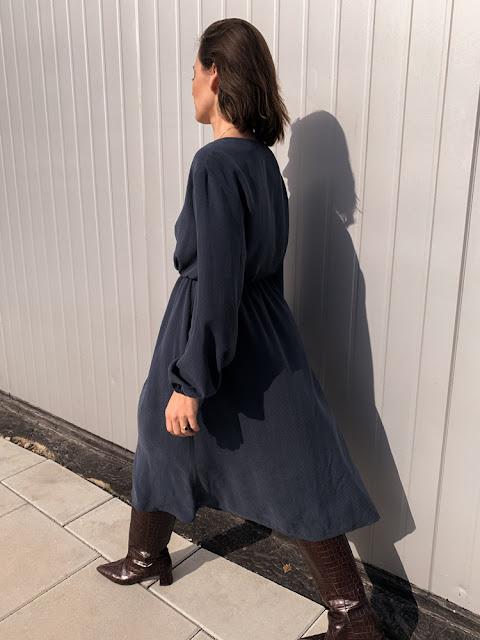sukienka z tencellu