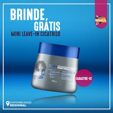 Brindes Grátis - Manteiga 2 em 1 Multifuncional Mais Q Onda Triskle - 500g