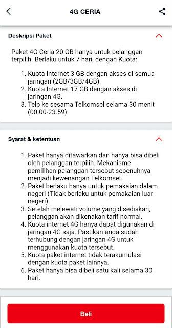 Paket Murah Telkomsel 20GB Cuma Rp6000 Terbaru 2020