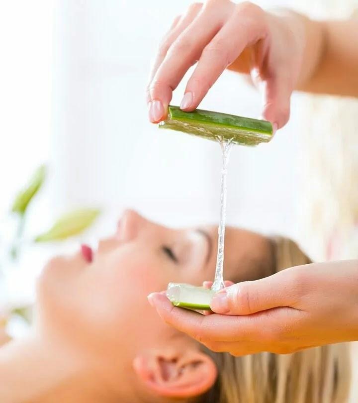 Alovera gel basic hair care tips