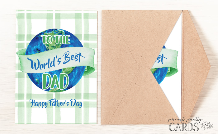 Father's Day Card Printables
