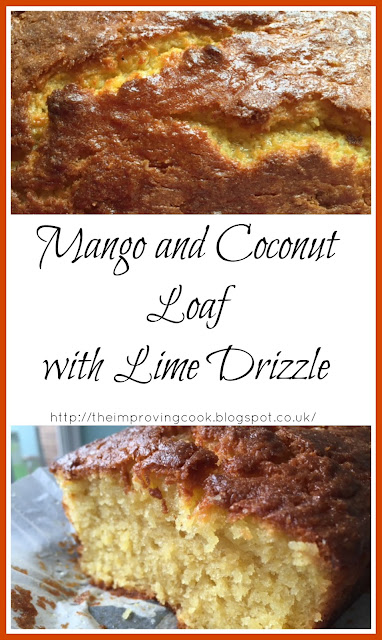 Mango and Coconut Loaf Cake