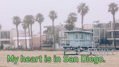 San Diego California Instagram captions