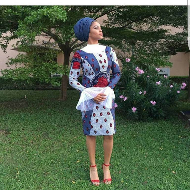elegant, Ankara ,African dresses, Fashion, Designs