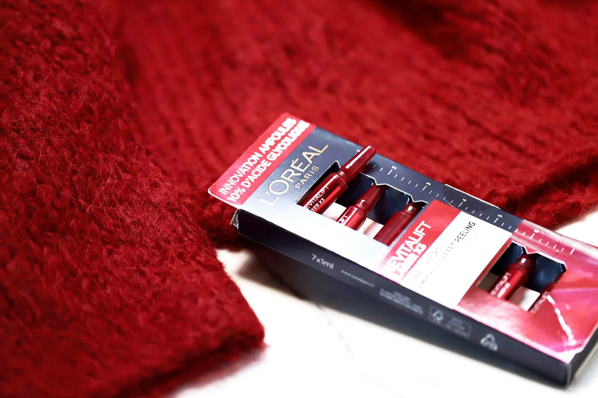 L'Oreal Revitalift Laser x3 Cure Peeling Ampoules