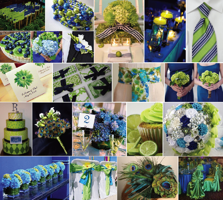 Summer Wedding Color Ideas: Ideas By Andrea: Summer Event Color Combinations