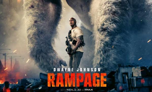 film terbaru 2018 rampage