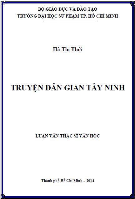 Truyện dân gian Tây Ninh