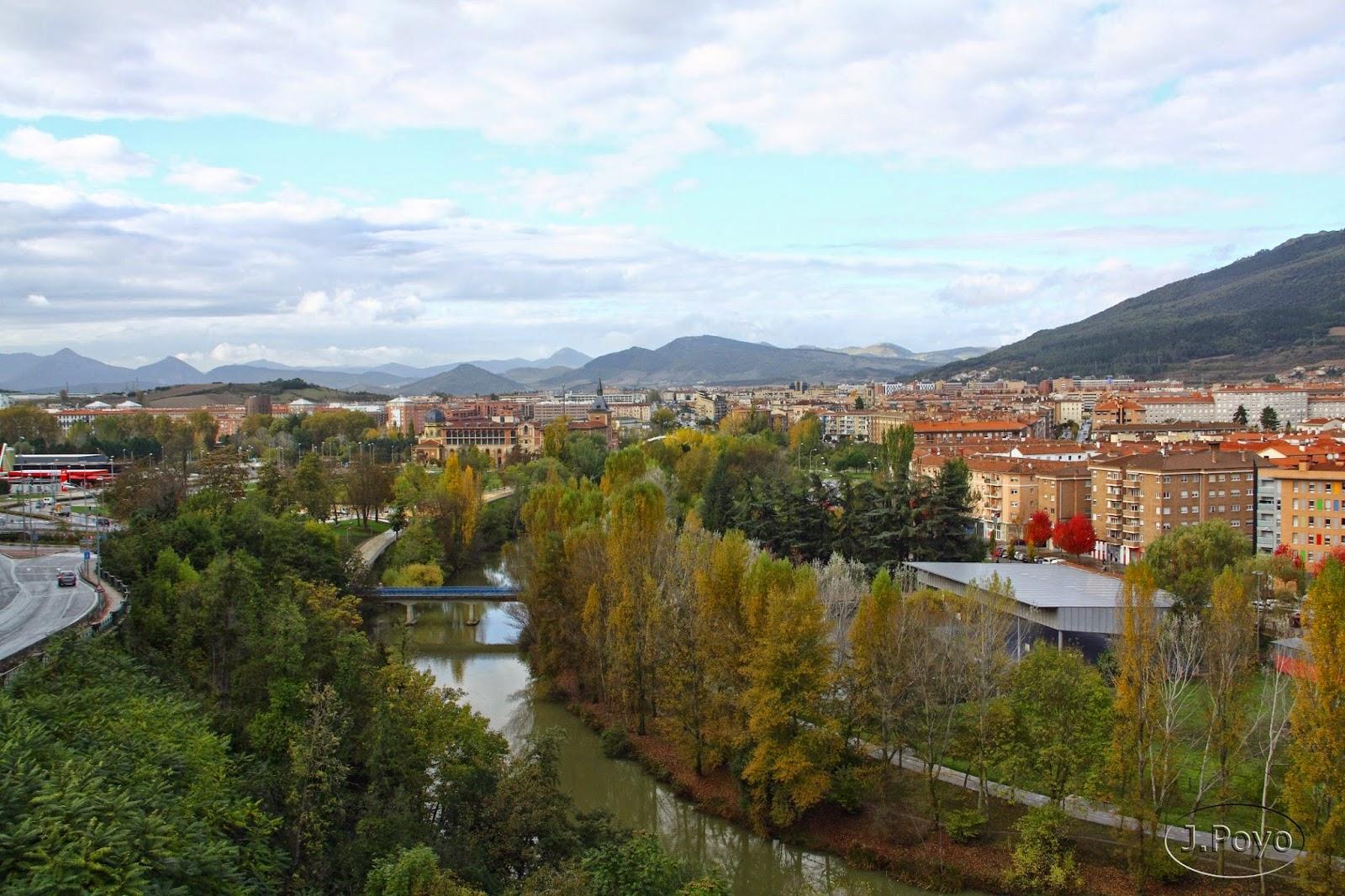 Vista de Pamplona desde el Paseo de Ronda