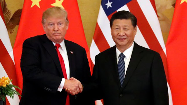 Rumors are that US President Donald Trump and Chinese President Xi Jinping Huawei will hold a phone call this weekend.