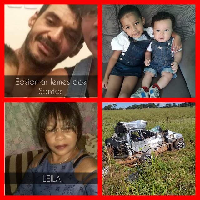 Rio Verde: Família que morreu em acidente na GO-174 é identificada