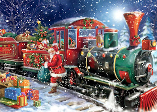 Santa-unloading-the-gifts-from-north-pole-express-train-in-snow-fall-painting-image.jpg