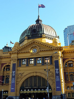 5D4N Melbourne Trip: Wandering around Flinders Station