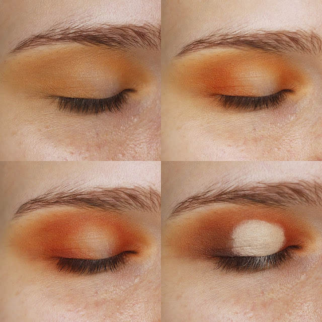 orange smoke eye