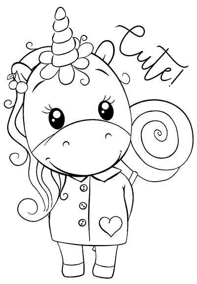 Dibujos De Unicornios Para Colorear Imagenes Y Dibujos