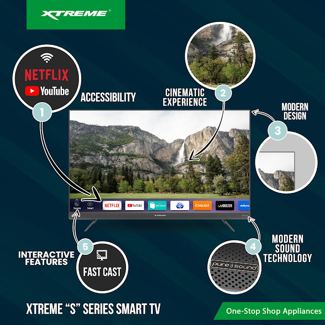 XTREME S Series Smart TV