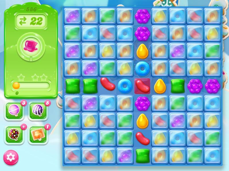 Candy Crush Jelly Saga level 586
