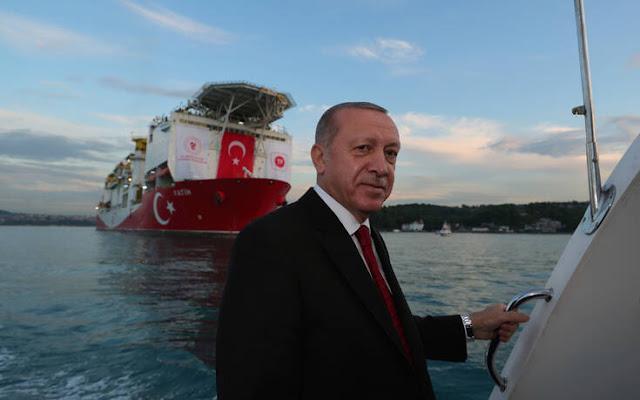 Ο Τούρκος πρόεδρος αναφέρθηκε στη συμφωνία της Ελλάδας με την Αίγυπτο, την οποία χαρακτήρισε ως παράνομη, ενώ μεταξύ άλλων τόνισε ότι η Τουρκία δεν έχει βλέψεις για άλλα εδάφη.