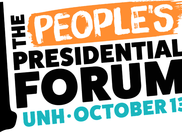 Sunday, October 13th- The People's Presidential Forum of NH