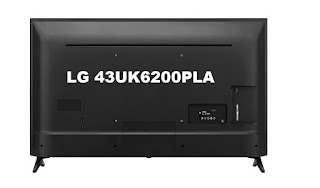 LG 43UK6200PLA TV - rear side