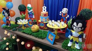 Decoração festa infantil Dragon Ball