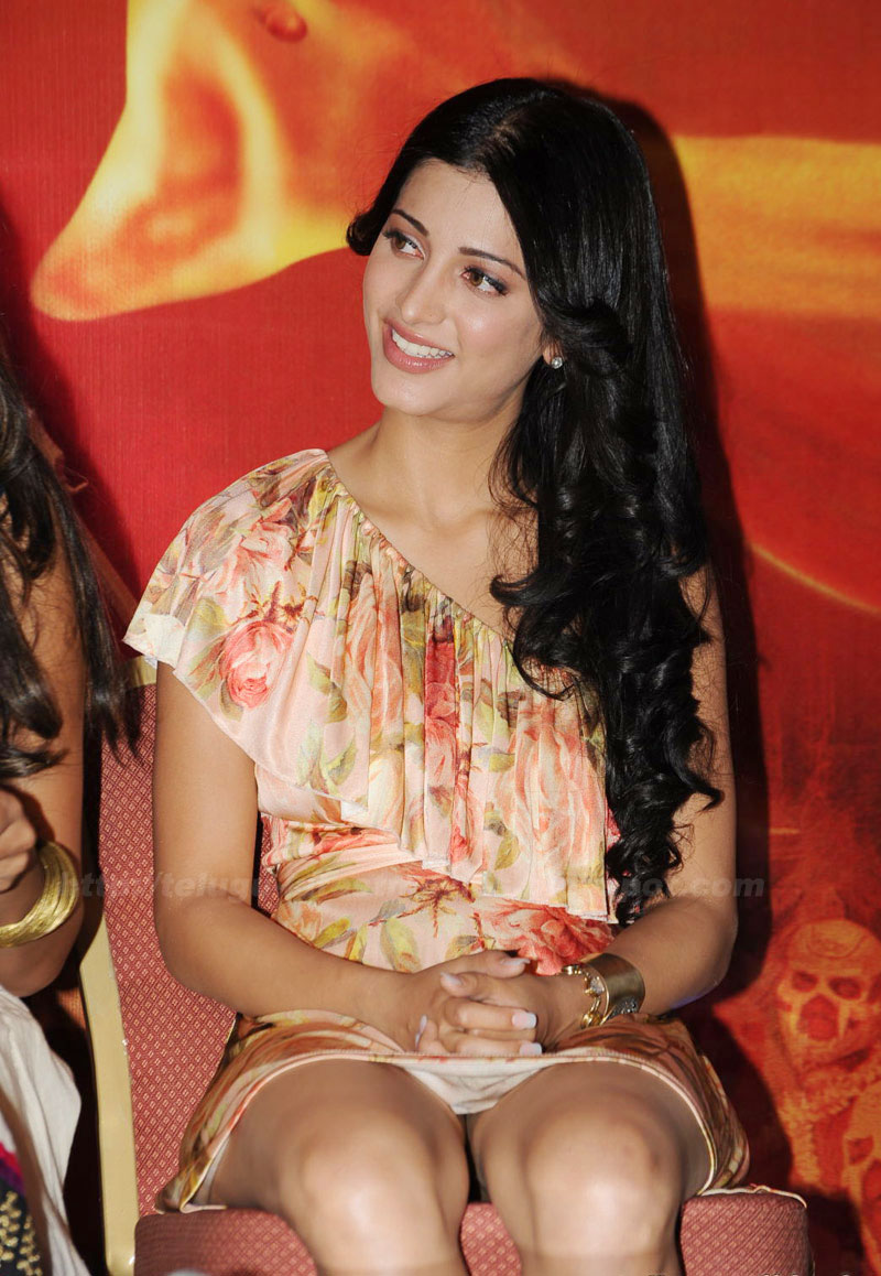 With you shruti hassan nude photos with you