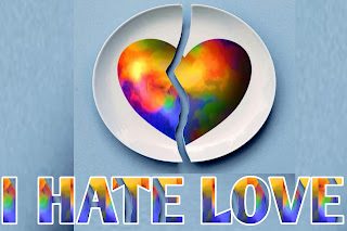 Hate love image, heart broken love image, love, hate
