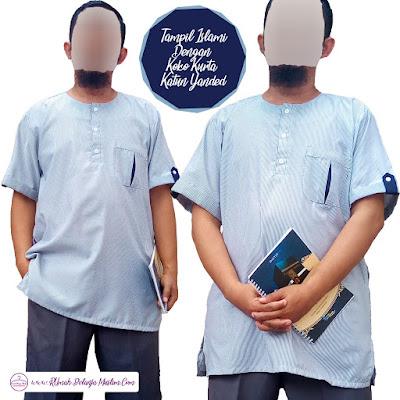 Baju Koko Pakistan Abu Muda Salur