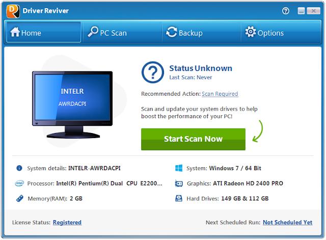 Screenshot Driver Reviver 5.33.2.6 Full Version