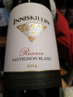 Inniskillin Reserve Sauvignon Blanc 2014 - VQA Niagara Peninsula, Ontario, Canada (89 pts)