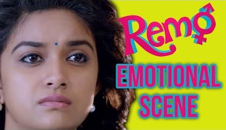 Remo – Emotional scene   Sivakarthikeyan   Keerthy Suresh   P. C. Sreeram