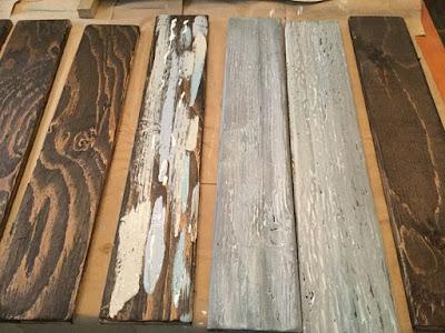 Creating Reclaimed Wood Look
