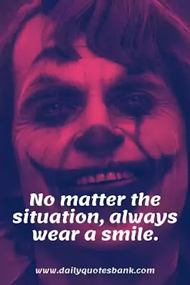 Unique Words With Deep Meaning Joker Quotes - Joker Lines on Life