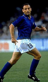 Toto Schillaci in action