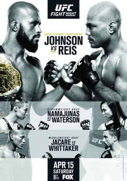 Watch UFC on Fox 24 Johnson vs Reis Online Free Putlocker