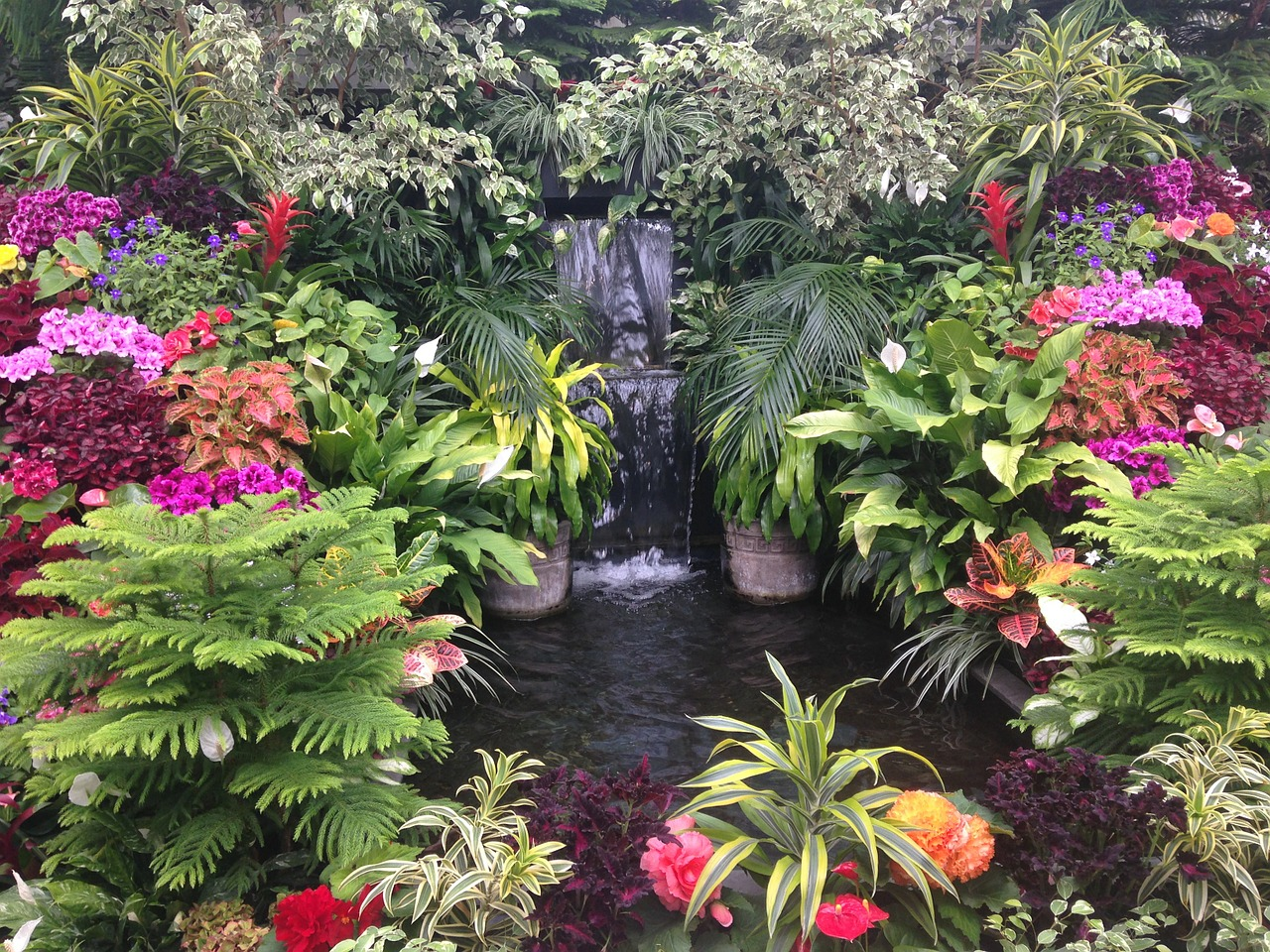 Building an Active Waterfall in Your Garden