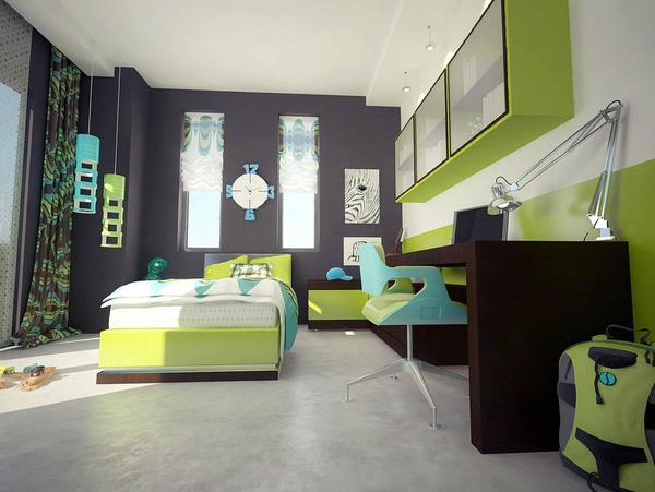 Mẫu thiết kế căn hộ 51m2 đẹp phong cách hiện đại - H6