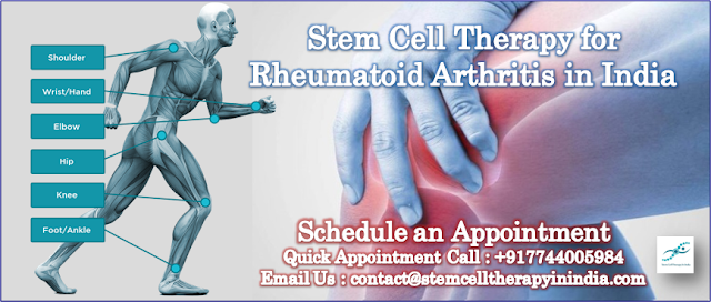 Success rate of Stem cell Treatment for Rheumatoid Arthritis in India
